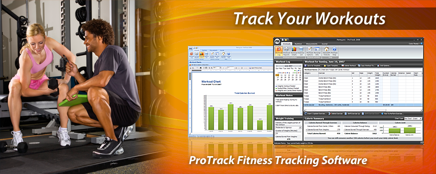 ProTrack Fitness Software - Tracking Workouts